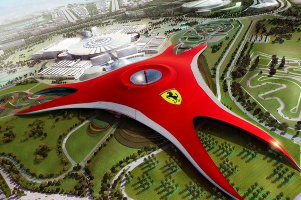 ferrari world nouveau parc d 39 attractions d 39 abu dhabi actu people scoop. Black Bedroom Furniture Sets. Home Design Ideas