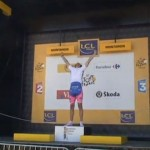 GONZAGUE S'INCRUSTE SUR LE TOUR DE FRANCE