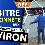 DEFI: arbitre malhonnête à une compétition d'Aviron