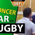 DEFI: se faire démonter par une star du rugby