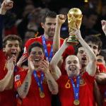 FOOTBALL : L'ESPAGNE EST CHAMPIONNE DU MONDE !