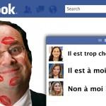 Hollande, le bourreau des cœurs sur Facebook